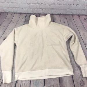 Vineyard Vines Fleece Cowl Neck Sweater Size XS
